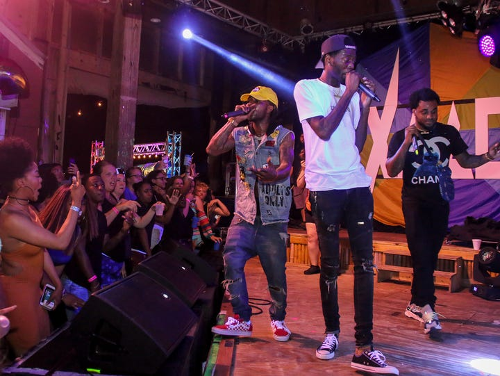 Travis Porter performs during the third night of the