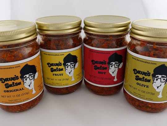 Dave's Salsa come in four flavors