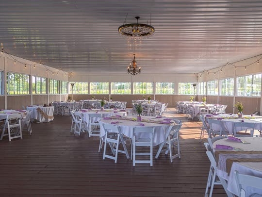 Updated event space at the Jerris Wadsworth barn.