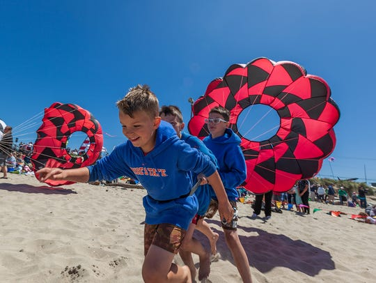 34th Annual Summer Kite Festival: Watch colorful, inflatable