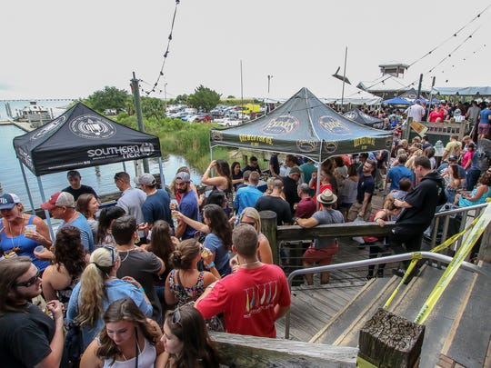 With over 50 beers and spirits for them to sample, hundreds of people enjoyed last year's Craft Beer Fest at the Fish House. The sixth annual festival will take place Saturday at 3 p.m.