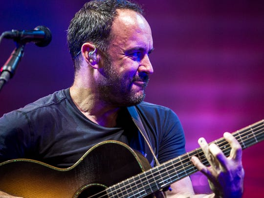 Dave Matthews Band performs at the American Family