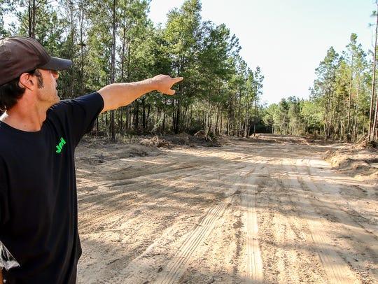 Josh Neptune, co-owner of the MX191 dirt track in Milton,
