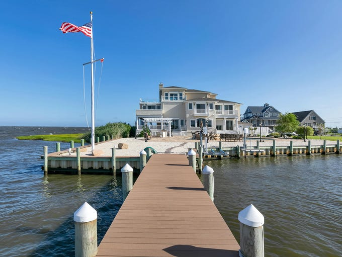 The ultimate beach house at 1148 Island Drive in Bayville.