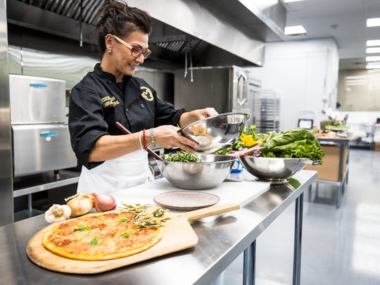 Chef Carylann Principal created a vegetarian menu for The Mint Dispensary's full-service kitchen which will serve medical marijuana-infused meals.