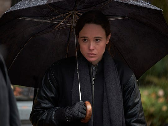 "Ellen Page in ""The Umbrella Academy."""