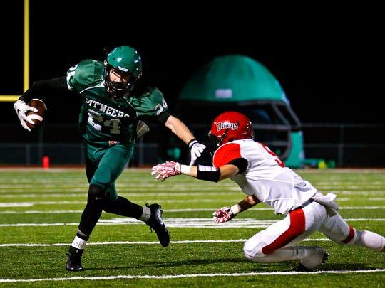 Mt. Vernon High School wide receiver Jarrett Massie