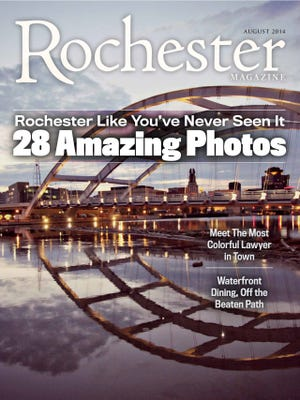 The first Rochester Magazine photo issue.