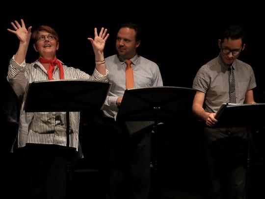 Kris Davies, Joel Thomas and Armando Serrano appear