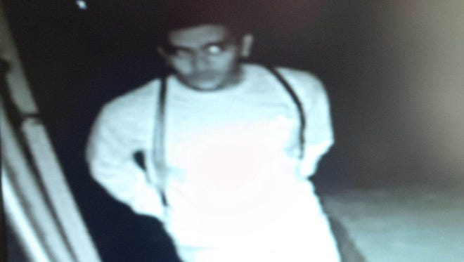 Ithaca Police are looking for information on this man who they suspect is connected to a string of burglaries in East Hill.