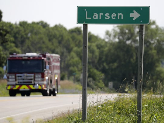 Larsen has been floated as the name of the village.