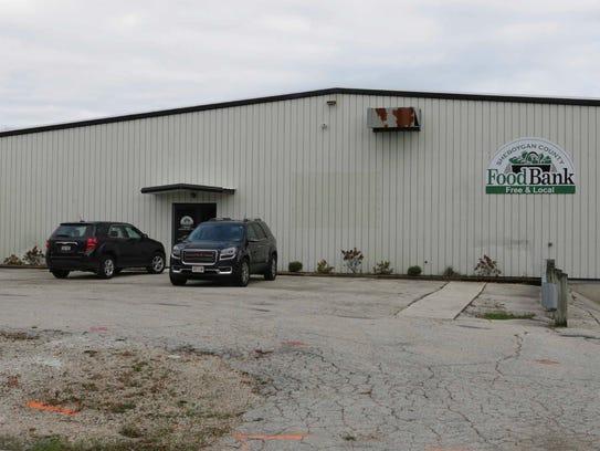The Sheboygan County Food Bank building.