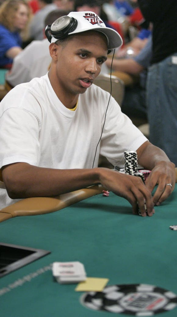 Poker legend Phil Ivey, seen here at the World Series