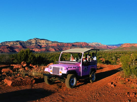 For 50 years Pink Jeep Tours has led visitors into