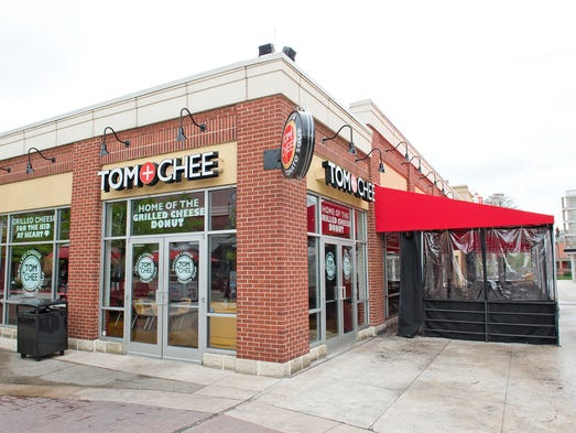 Take a look inside Tom + Chee's newly remodeled location at Newport on the Levee.