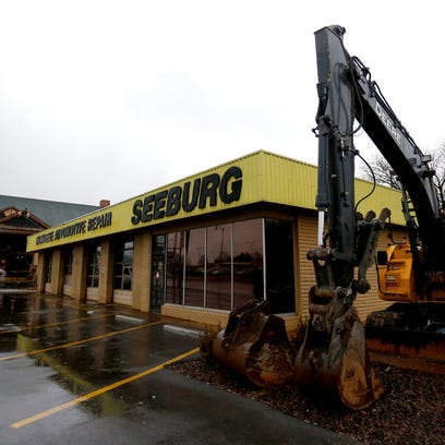 The Seeburg Service Center property, located at 607