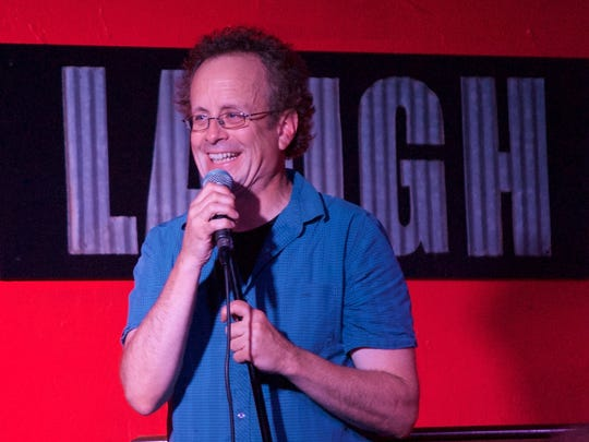 Kevin McDonald of The Kids in the Hall performed in 2017 at Laugh In Comedy Cafe in Fort Myers.