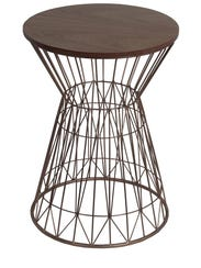 This wood and metal table was $39.97 at nordstromrack.com