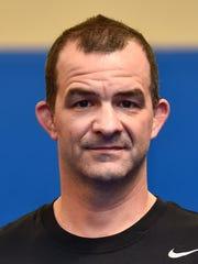 Matt Mentzer, Chambersburg head coach of wrestling