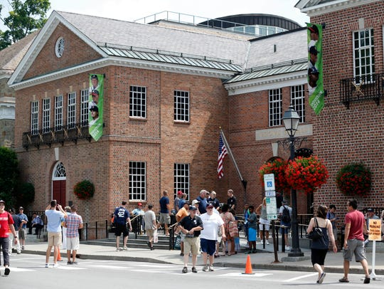 The National Baseball Hall of Fame and Museum in Cooperstown.