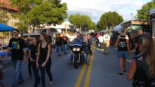 Motorcycles and the people who love them show up by the thousands for Cape Coral Bike Night.
