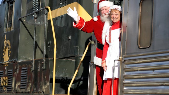 Cape May Seashore Lines will once again offer train rides with Santa between Richland and Tuckahoe.