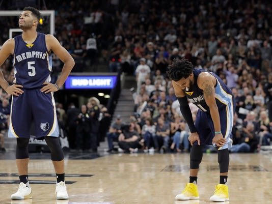 Andrew Harrison, Mike Conley