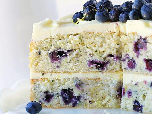 blueberry zucchini cake