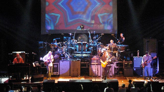 The Allman Brothers perform at the Warner Theatre on July 19, 2005.