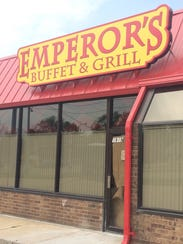 Emperor's Buffet & Grill is slated to open mid-summer.