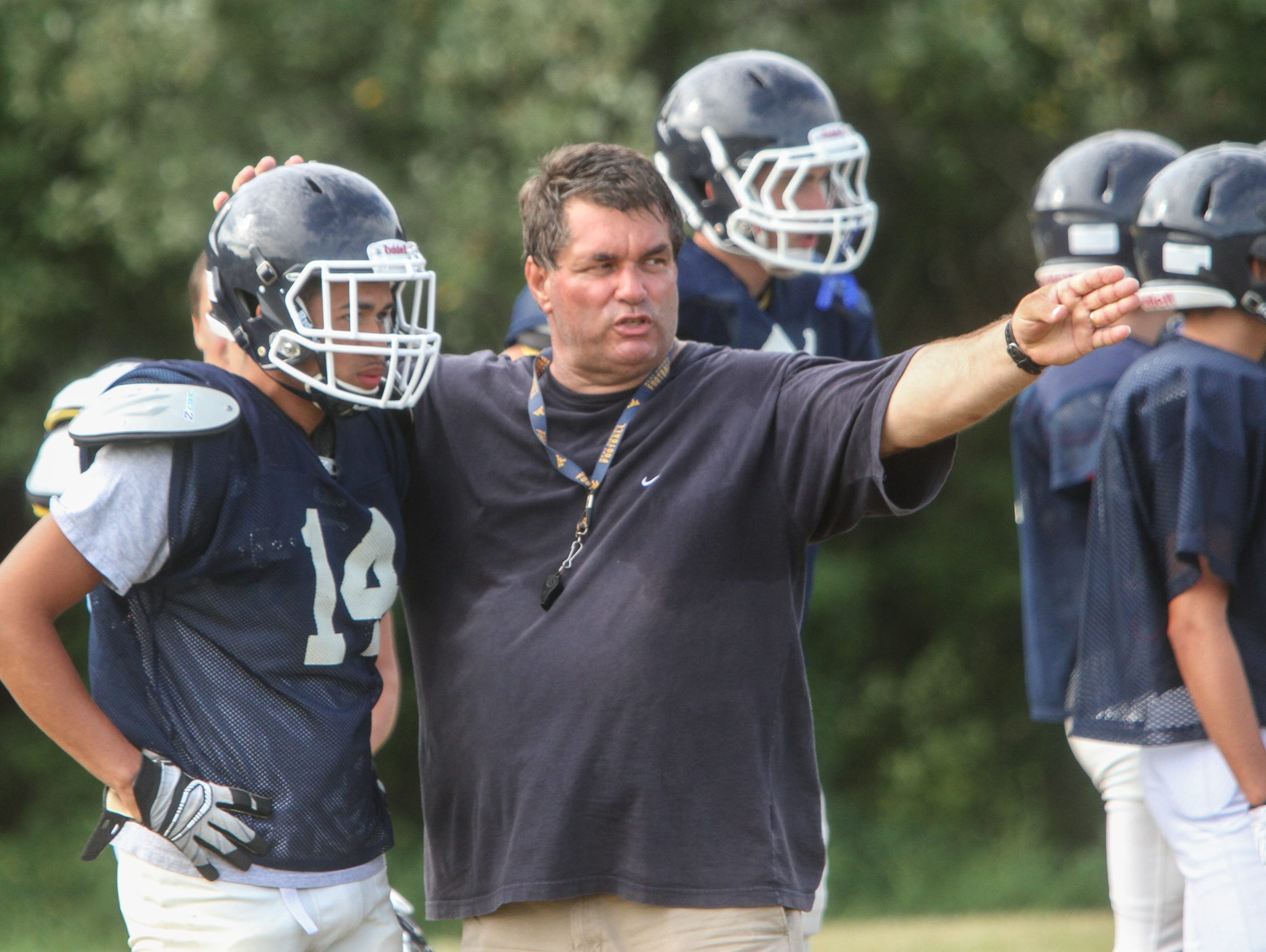 Former Howell coach and current Freehold Township head coach Cory Davies had a successful homecoming at Howell last Friday night as Freehold Township recorded a 21-14 win.