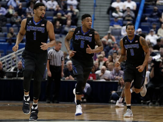 NCAA Basketball: Memphis at Connecticut