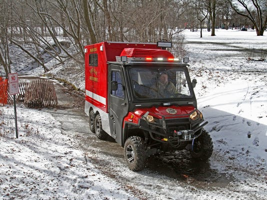 West Allis FD All-Terrain Ambulance