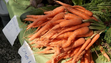 Produce for sale at the Silverdale Farmers Market last fall.