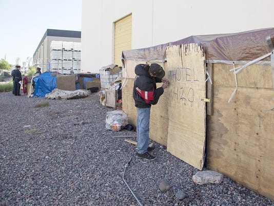 Phoenix homeless