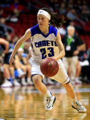 Ellie Friesen of Crestwood of Cresco was one of the state's top guards this season.