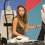 Maya, 14, from Maumee, Ohio, has made it to the 'Project Runway Junior' finals.