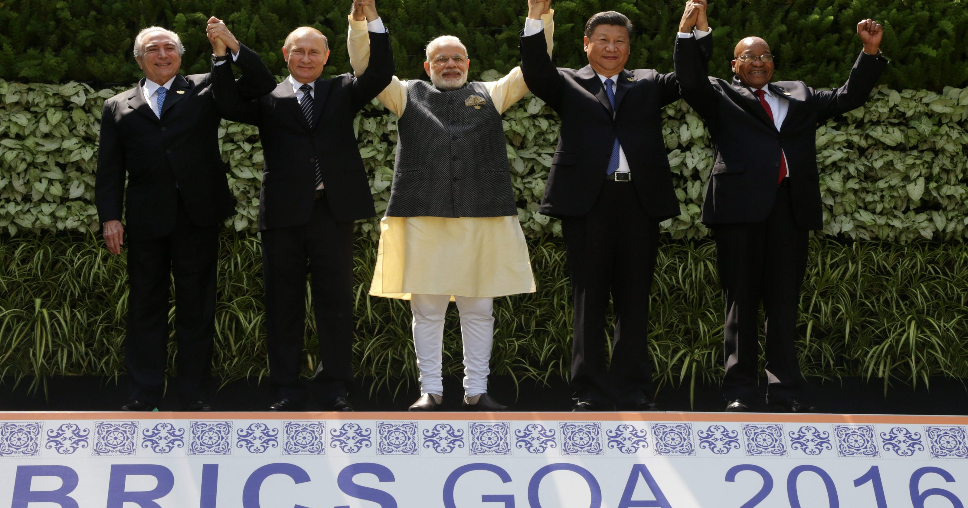 Brics Leaders Vow To Speed Global Recovery Fight Terrorism
