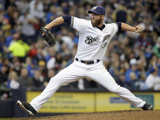Former Brewers all-star pitcher Chris Capuano spent 12 years in the big leagues, including six in Milwaukee.