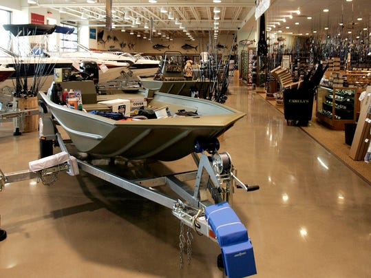 Cabela s to open in west chester for Cabela s fishing boats