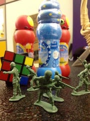 Bubbles, the Rubik's Cube and Little Green Army Men
