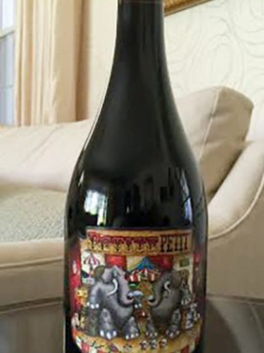 Petite Petit is made from 85 percent Petit Sirah and 15 percent Petit Verdot. It's great paired with pork or steak.