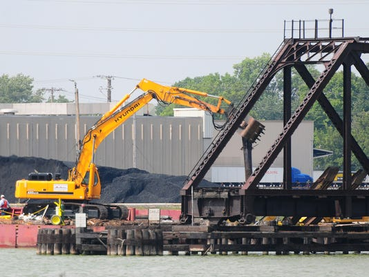 GPG Porlier St. Railroad Bridge Demolition
