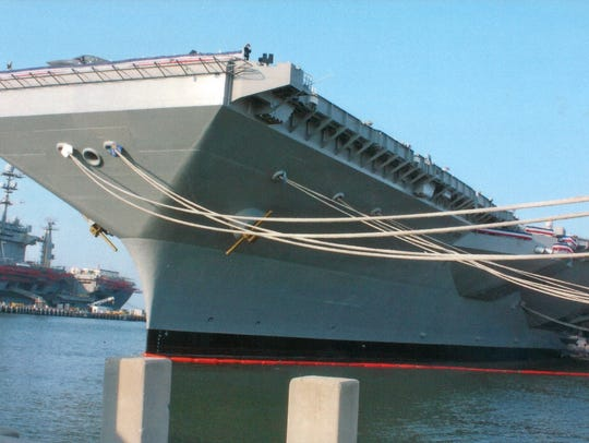 The USS Gerald R. Ford