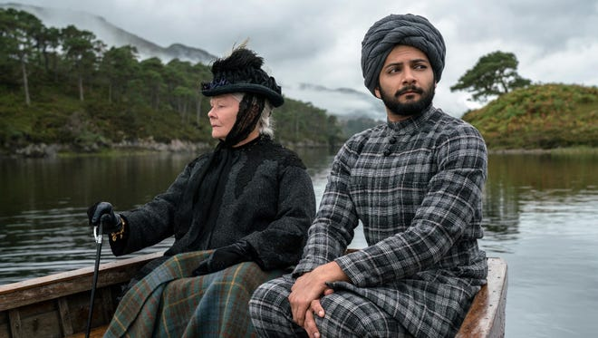 "Judi Dench, left, and Ali Fazal form an unexpected bond in the historical drama ""Victoria and Abdul."""