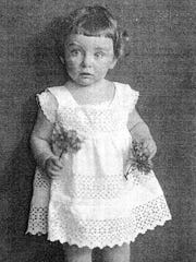 The earliest photo of Irmgard Muller.