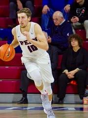 Galena grad Caleb Wood plays basketball for Penn, which