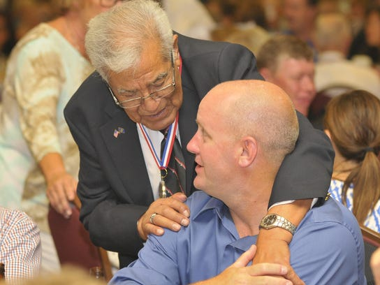 The Central Valley Honor Flights big dinner dance at