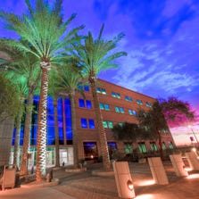 The OC-8 building is a recent addition to Intel's Ocotillo campus in Chandler.