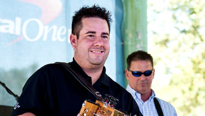 Kevin Naquin & the Ossun Express close out the free Music & Market's 10th season in Opelousas Friday evening.
